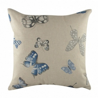 Подушка с принтом Blue Butterflies DG Home Pillows DG-D-PL220