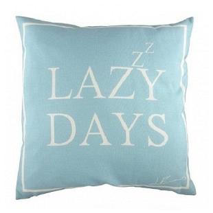 Подушка с надписью Lazy Days DG Home Pillows DG-D-PL223