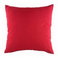 Однотонная подушка Red DG Home Pillows
