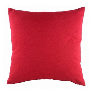 Однотонная подушка Red DG Home Pillows DG-D-PL232