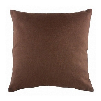Однотонная подушка Brown DG Home Pillows DG-D-PL234