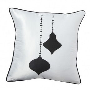 Подушка с принтом Jewelry White DG Home Pillows DG-D-PL24W