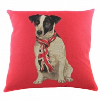 Подушка с британским флагом Jack Russel DG Home Pillows
