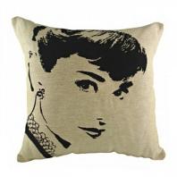 Подушка с портретом Audrey Hapburn DG Home Pillows