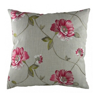 Подушка с орнаментом Pink Flowers DG Home Pillows DG-D-PL281