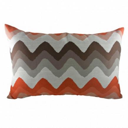 Подушка с полосками Orange Chevron DG Home Pillows DG-D-PL284