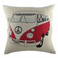 Подушка с принтом Campervan DG Home Pillows