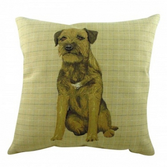 Подушка с принтом Border Terrier DG Home Pillows DG-D-PL290