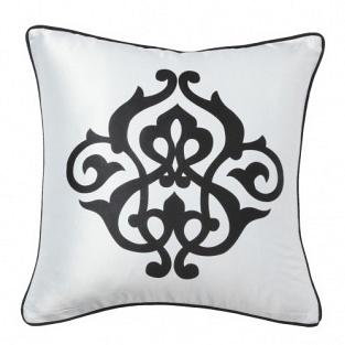 Подушка с принтом  Fleur de Lys White I DG Home Pillows DG-D-PL30W