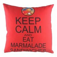 Подушка с надписью Paddington Keep Calm DG Home Pillows