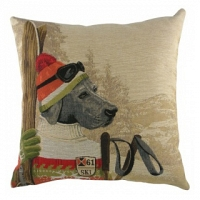 Подушка с принтом Ski Dogs Labrador DG Home Pillows