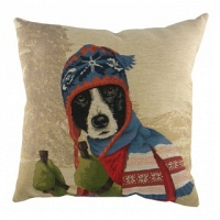 Подушка с принтом Ski Dogs Border Collie DG Home Pillows