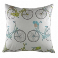 Подушка с принтом Summersdale Teal DG Home Pillows