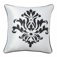 Подушка с принтом Fleur de Lys II White DG Home Pillows