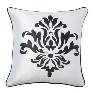 Подушка с принтом Fleur de Lys II White DG Home Pillows DG-D-PL32W