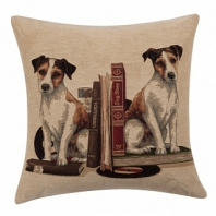 Подушка с принтом Bookends Jack Russell DG Home Pillows