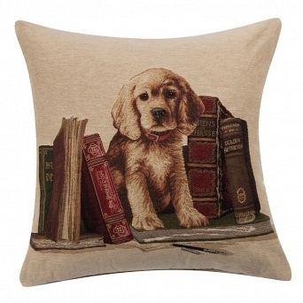 Подушка с принтом Bookends Retriever DG Home Pillows DG-D-PL338