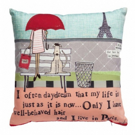Подушка с принтом Vita Di Città DG Home Pillows DG-D-PL350