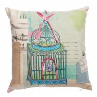 Подушка с вышивкой Musique DG Home Pillows