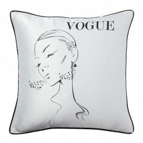 Подушка с надписью Vogue DG Home Pillows DG-D-PL35W