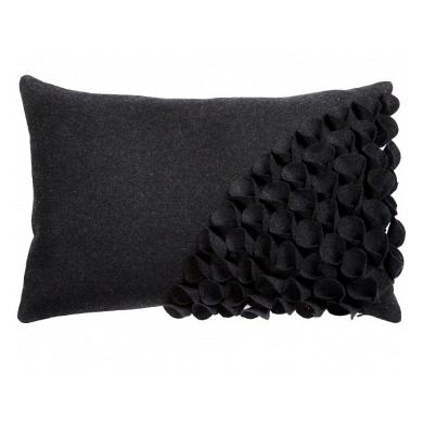 Подушка с объемным узором Alicia Dark Gray DG Home Pillows DG-D-PL402