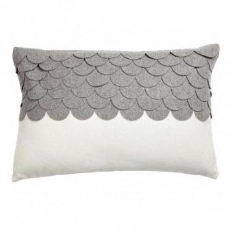 Подушка c узором Marbella Gray DG Home Pillows DG-D-PL407