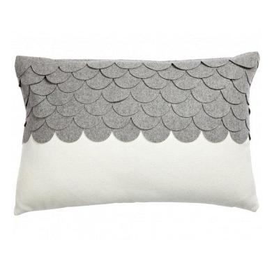 Подушка c узором Marbella Gray DG Home Pillows DG-D-PL407