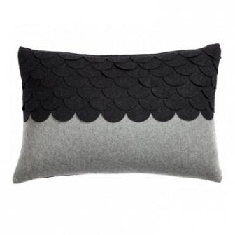 Подушка c узором Marbella Dark Gray DG Home Pillows DG-D-PL409