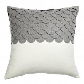 Подушка c узором Marbella Gray 2 DG Home Pillows DG-D-PL410