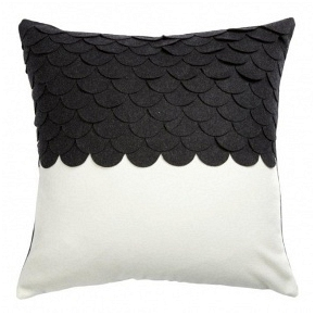 Подушка c узором Marbella Black 2 DG Home Pillows DG-D-PL411