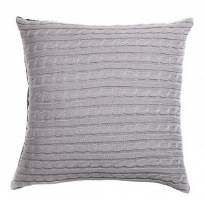 Подушка вязаная Kelly Gray 3 DG Home Pillows DG-D-PL426