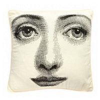 Подушка с принтом Faces Piero Fornasetti Two DG Home Pillows