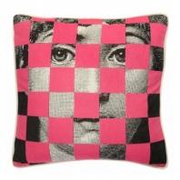 Подушка с принтом Faces Piero Fornasetti Five DG Home Pillows