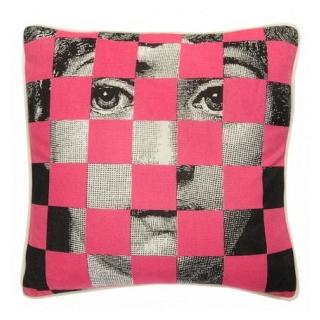 Подушка с принтом Faces Piero Fornasetti Five DG Home Pillows DG-D-PL431