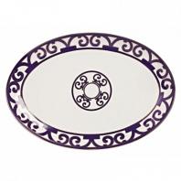Овальное блюдо Violet Dreams Large DG Home Tableware