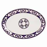 Овальное блюдо Violet Dreams Large DG Home Tableware