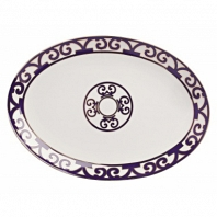 Овальное блюдо Violet Dreams Small DG Home Tableware