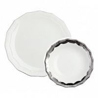 Комплект тарелок Marine Hoss Silver DG Home Tableware