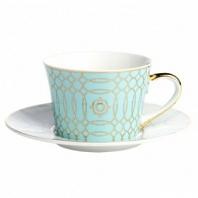 Чайная пара Turquoise Veil DG Home Tableware