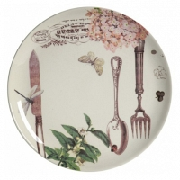 Тарелка Mois DG Home Tableware Evergreen