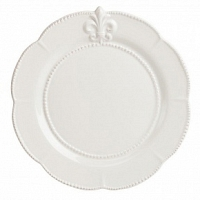Большая тарелка Tess Cream DG Home Tableware Evergreen