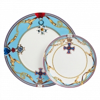 Комплект тарелок Courage II DG Home Tableware Yalong