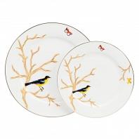 Комплект тарелок Timouse DG Home Tableware Yalong