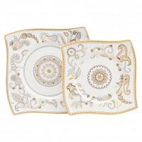 Комплект тарелок Artblanc Gold DG Home Tableware Yalong