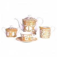 Чайный сервиз Marbella на 4 персоны (11 предметов) DG Home Tableware