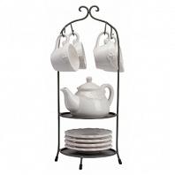 Чайный набор на подставке Treffen DG Home Tableware