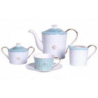 Чайный сервиз Turquoise Veil на 4 персоны (11 предметов) DG Home Tableware