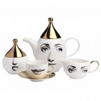 Чайный сервиз Golden Faces на 6 персон DG Home Tableware