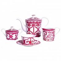 Чайный сервиз Sienna на 4 персоны (11 предметов) DG Home Tableware