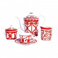 Чайный сервиз Heritage на 4 персоны (11 предметов) DG Home Tableware